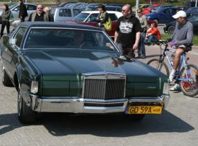 Lincoln Continental Mark IV, 1971 r, 7.5 cm3, RWD