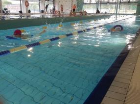 Turniej na oruńskiej pływalni. Rywalizowały przedszkolaki z całego Gdańska